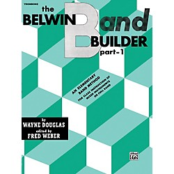 Alfred Belwin Band Builder Part 1 Trombone (B.C.) (00-EL00604)