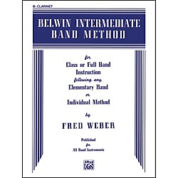Alfred Belwin Intermediate Band Method B-Flat Clarinet (00-EL00260)