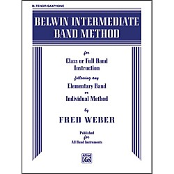 Alfred Belwin Intermediate Band Method B-Flat Tenor Saxophone (00-EL00266)