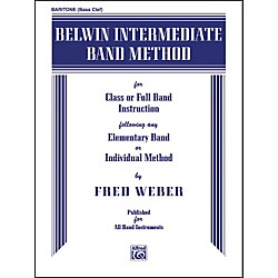 Alfred Belwin Intermediate Band Method Baritone B.C. (00-EL00273)