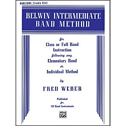 Alfred Belwin Intermediate Band Method Baritone T.C. (00-EL00272)