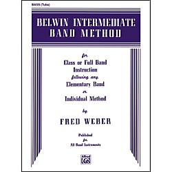 Alfred Belwin Intermediate Band Method Bass (Tuba) (00-EL00274)