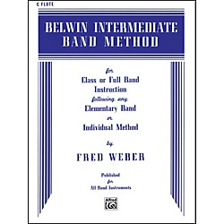 Alfred Belwin Intermediate Band Method C Flute (00-EL00258)