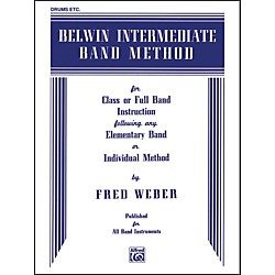 Alfred Belwin Intermediate Band Method Drums (00-EL00275)