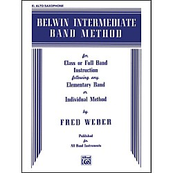 Alfred Belwin Intermediate Band Method E-Flat Alto Saxophone (00-EL00265)