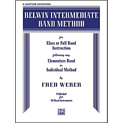 Alfred Belwin Intermediate Band Method E-Flat Baritone Saxophone Book (00-EL00267)