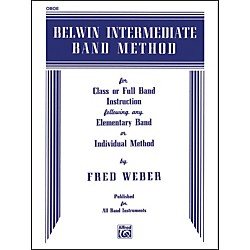 Alfred Belwin Intermediate Band Method Oboe (00-EL00263)