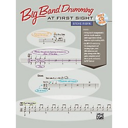 Alfred Big Band Drumming at First Sight Book & CD (00-37262)