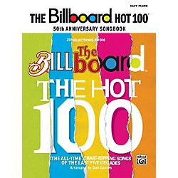 Alfred Billboard Magazine Hot 100 50th Anniversary Songbook Easy Piano (00-32747)