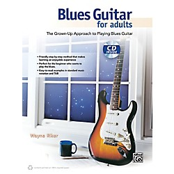 Alfred Blues Guitar for Adults Book & CD (00-40178)