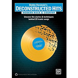 Alfred Bobby Owsinski's Deconstructed Hits: Modern Rock & Country Book (00-36330)