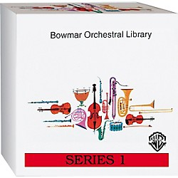 Alfred Bowmar Orchestral Library 12-CD Box Set Series 1 (00-BMR05111)