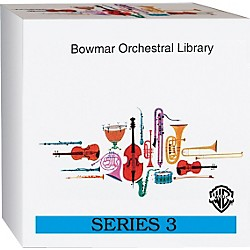 Alfred Bowmar Orchestral Library 12-CD Box Set Series 3 (00-BMR05113)