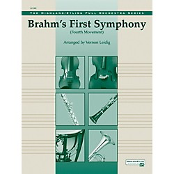 Alfred Brahms's 1st Symphony, 4th Movement - Concert Orchestra Grade 3 Set (00-12217)