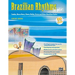 Alfred Brazilian Rhythms For Guitar - Book/Cd (00-0764B)