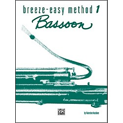 Alfred Breeze-Easy Method for Bassoon Book I (00-BE0002)