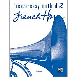 Alfred Breeze-Easy Method for French Horn Book II (00-BE0010)