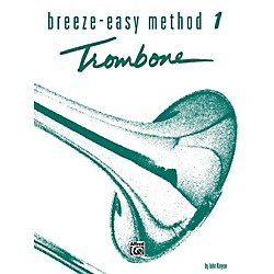 Alfred Breeze-Easy Method for Trombone or Baritone Book I (00-BE0017)