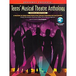 Alfred Broadway Presents! Teens' Musical Theatre Anthology Female Edition Book/CD (322200)