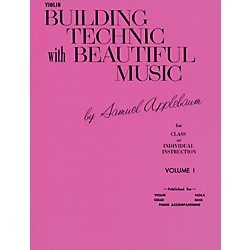 Alfred Building Technic With Beautiful Music Book I Violin (00-EL01057)