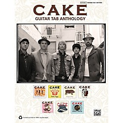 Alfred Cake - Guitar TAB Anthology Book (00-37310)