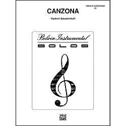Alfred Canzona - Eighth Note Publications Series (00-BWI00060)