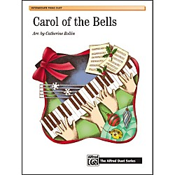 Alfred Carol of the Bells Piano Sheet (00-18976)