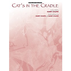 Alfred Cats in the Cradle Sheet Music (00-GVM00002)