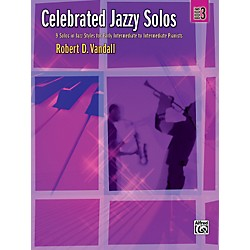 Alfred Celebrated Jazzy Solos Book 3 Piano (00-32786)