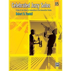 Alfred Celebrated Jazzy Solos Book 5 Piano (00-32788)