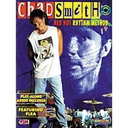 Alfred Chad Smith Red Hot Rhythm Method Book with CD (00-MMBK0047CD)