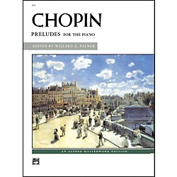 Alfred Chopin Preludes Intermediate/Early Advanced Piano (00-610)