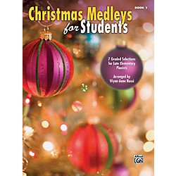 Alfred Christmas Medleys for Students Book 1 (00-39483)