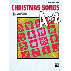 Alfred Christmas Songs A to Z  P/V/C Book (00-40855)