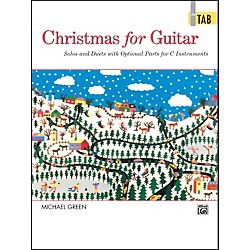 Alfred Christmas for Guitar In TAB (00-4467)