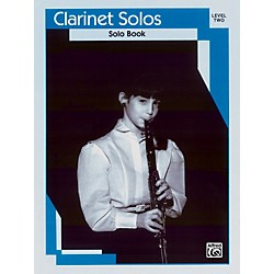 Alfred Clarinet Solos Level II Solo Book (00-EL03126)