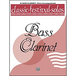 Alfred Classic Festival Solos (B-Flat Bass Clarinet) Volume 1 Piano Acc. (00-EL03729)