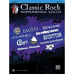 Alfred Classic Rock Instrumental Solos Clarinet Book & CD (00-37385)