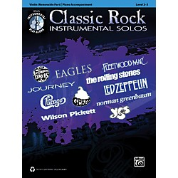 Alfred Classic Rock Instrumental Solos for Strings Violin Book & CD (00-37406)
