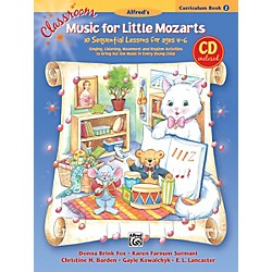 Alfred Classroom Music for Little Mozarts Curriculum Book 2 & CD (00-23820)