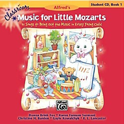 Alfred Classroom Music for Little Mozarts Student CD Book 1 (00-34025)