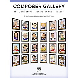 Alfred Composer Gallery Poster Set of 24 (00-42973)