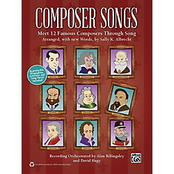 Alfred Composer Songs Book & CD (00-41675)