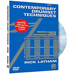 Alfred Contemporary Drumset Techniques DVD (00-42355)