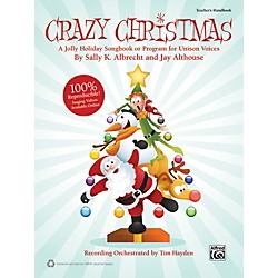 Alfred Crazy Christmas (Book/CD) (00-39940)