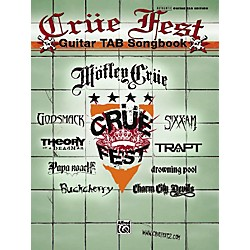 Alfred Crue Fest: The Official Tour - Guitar Tab Book (00-32810)