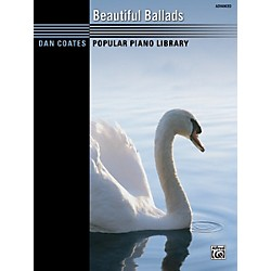 Alfred Dan Coates Beautiful Ballads Advanced Piano Book (00-36522)