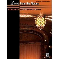 Alfred Dan Coates Popular Piano Library: Duets from the Movies Book (00-39596)