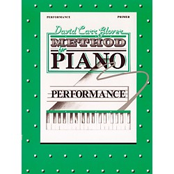 Alfred David Carr Glover Method for Piano Performance Primer (00-FDL01002)