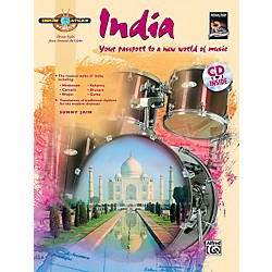 Alfred Drum Atlas: India (Book/CD) (00-30315)